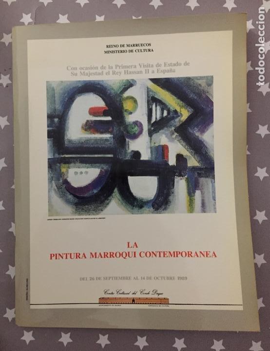 LA PINTURA MARROQUI CONTEMPORANEA, CATALOGO (Libros de Segunda Mano - Bellas artes, ocio y coleccionismo - Otros)