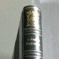 Libros de segunda mano: EVOCACIÓN DE LA VIEJA PUEBLA. ESTAMPAS SANTANDERINAS DEL SIGLO XIX. JOSÉ SIMÓN CABARGA, ENCUADERNADO. Lote 195439297