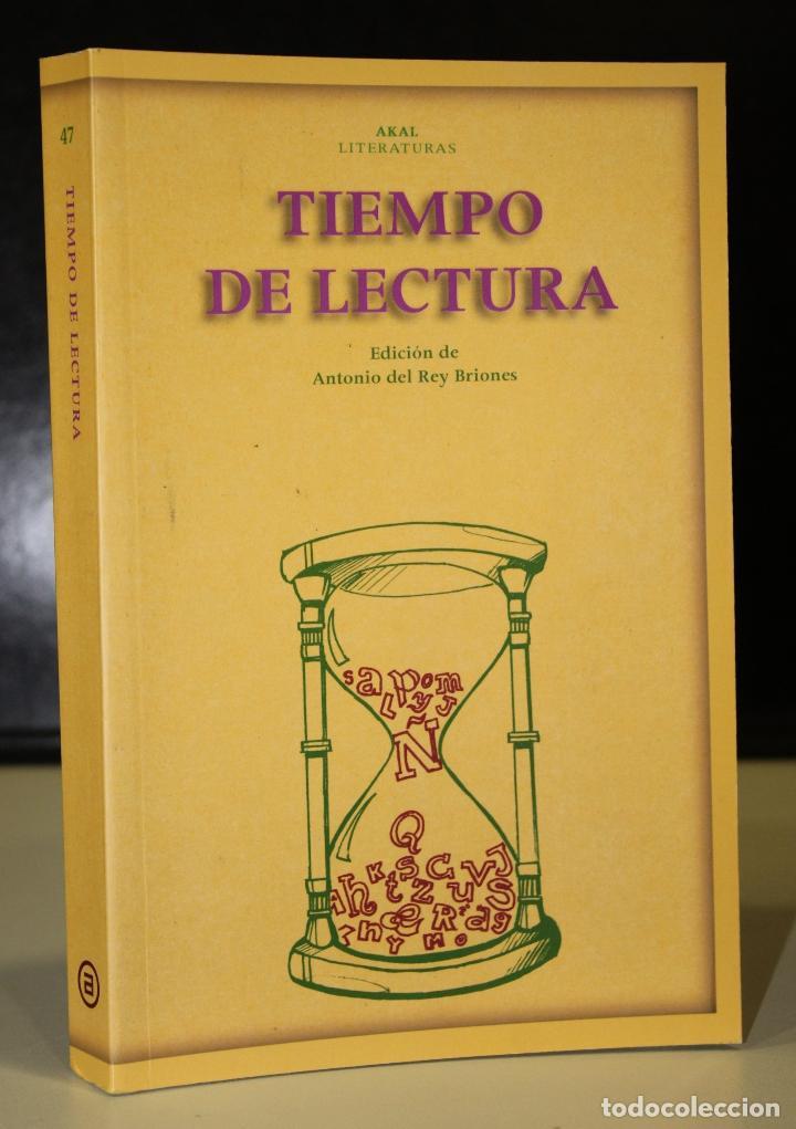 TIEMPO DE LECTURA. (Libros de Segunda Mano (posteriores a 1936) - Literatura - Otros)