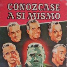 Libros de segunda mano: CONOZCASE A SI MISMO.J. VICENS CARRIO.VERDADERA PERSONALIDAD POR PRUEVAS CIENTIFICAS. LIBRO BRUGUERA. Lote 195448747