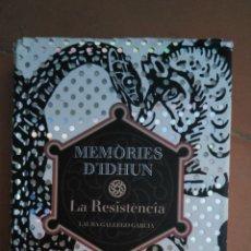 Libros de segunda mano: MEMÒRIES D'IDHUN. LA RESISTÈNCIA. LAURA GALLEGO . ED. CRUÏLLA. 1ª EDICIÓ 2004. EN CATALAN. Lote 195451868