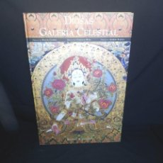 Libros de segunda mano: ROMIO SHRESTHA - DIOSAS DE LA GALERIA CELESTIAL - FORMATO GRANDE 61X43 CM. Lote 195459735