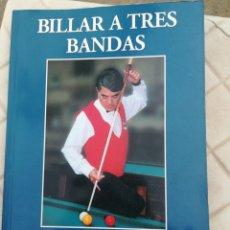 Libros de segunda mano: BILLAR A TRES BANDAS JOSÉ MARIA QUETGLAS TUTOR 2001. Lote 195460632