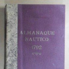 Libros de segunda mano: ALMANAQUE NAUTICO 1792 Y EFEMERIDES ASTRONOMICAS - 1975. Lote 195461571