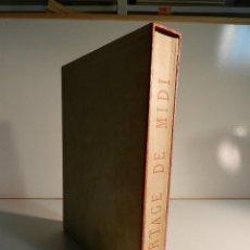 Libros de segunda mano: PAUL CLAUDEL 1868-1955 PARTAGE DE MIDI 1947 AGUAFUERTES DEMETRIUS GALANIS ED LIMITADA A 190 NUMERADO. Lote 195463122