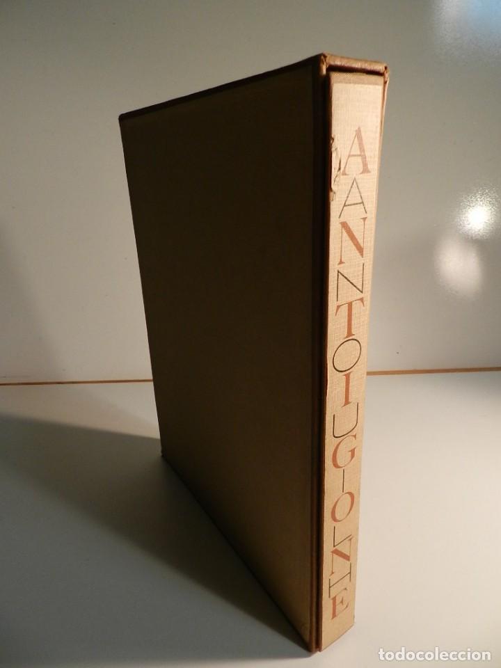 ANTÍGONA ANOUILH ANTIGONE - ACUARELAS JANE PECHEUR - ED LIMITADA A 190 - NUMERADO (Libros de Segunda Mano - Bellas artes, ocio y coleccionismo - Otros)