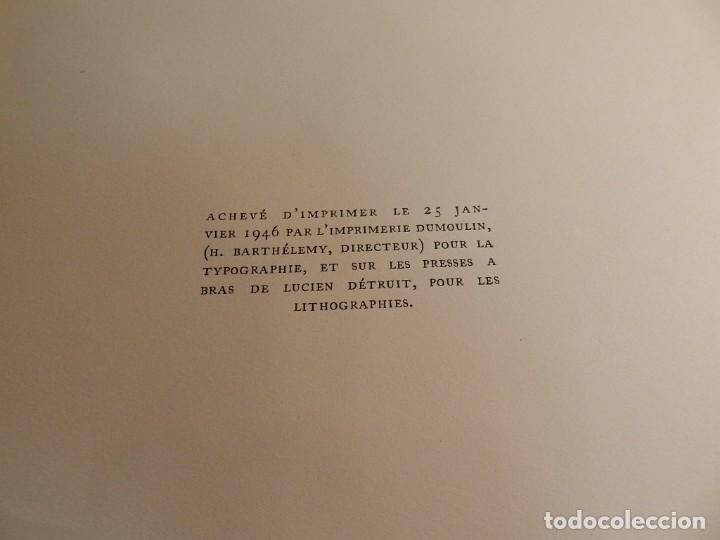 Libros de segunda mano: ANTÍGONA ANOUILH ANTIGONE - ACUARELAS JANE PECHEUR - ED LIMITADA A 190 - NUMERADO - Foto 11 - 195463915