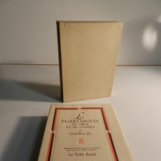 Libros de segunda mano: LES EGAREMENTS DU COEUR ET DE L'ESPRIT CRILLON FILS ILL. DE FRANÇOIS SALVAT 1946. Lote 195465093