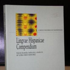 Libros de segunda mano: LINGUAE HISPANICAE COMPENDIUM. (COPENHAGUE, 1662).. Lote 195467040