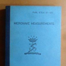 Libros de segunda mano: MICROWAVE MEASUREMENTS - ETEA 01-094 - 1974 ** EN INGLES. Lote 195467317