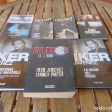 Libros de segunda mano: LOTE DE 7 LIBROS DE IKER JIMENEZ CARMEN PORTER CASAS ENCANTADAS FRONTERA IMPOSIBLE. Lote 195468353