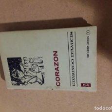 Libros de segunda mano: CORAZÓN EDMUNDO D,AMICIS SERIE CLÁSICA JUVENIL . Lote 195476106