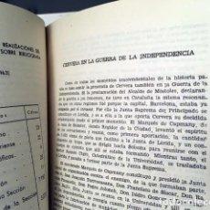 Libros de segunda mano: GUERRA DE LA INDEPENDENCIA EN CERVERA (XXII.ª EXPOSICIÓN BIBLIOGRÁFICA CERVARIENSE) . Lote 195477830