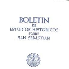 Libros de segunda mano: BOLETÍN DE ESTUDIOS HISTÓRICOS SOBRE SAN SEBASTIÁN. 18. 1984. Lote 195481595