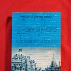 Libros de segunda mano: LA EXPERIENCIA PLATONICA EN LA INGLATERRA DECIMONONICA. PATRICIA CRUZALEGUI SOTELO. FILOSOFIA. Lote 195499627
