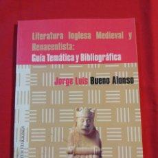 Libros de segunda mano: LITERATURA. Lote 195500653