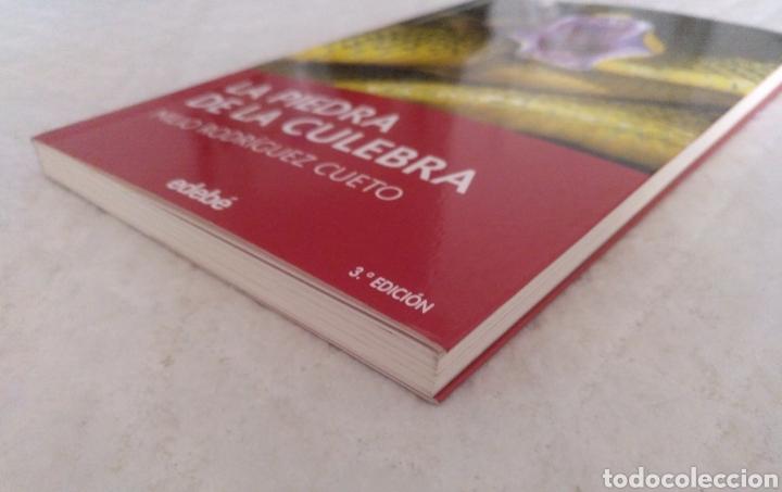 Libros de segunda mano: La piedra de la culebra. Milio Rodríguez Cueto. Libro - Foto 6 - 195503833