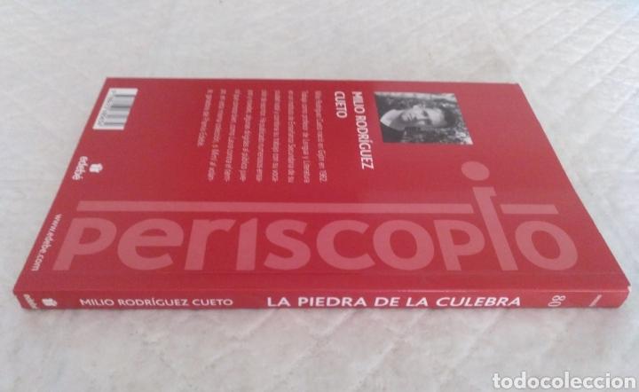 Libros de segunda mano: La piedra de la culebra. Milio Rodríguez Cueto. Libro - Foto 7 - 195503833