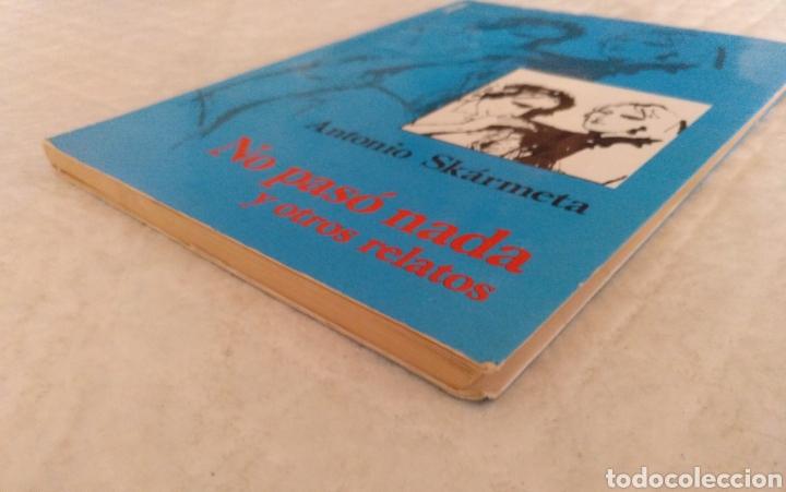 Libros de segunda mano: No paso nada y otros relatos. Antonio Skarmeta. Ilustraciones de Federico Aymá. Libro - Foto 6 - 195504928
