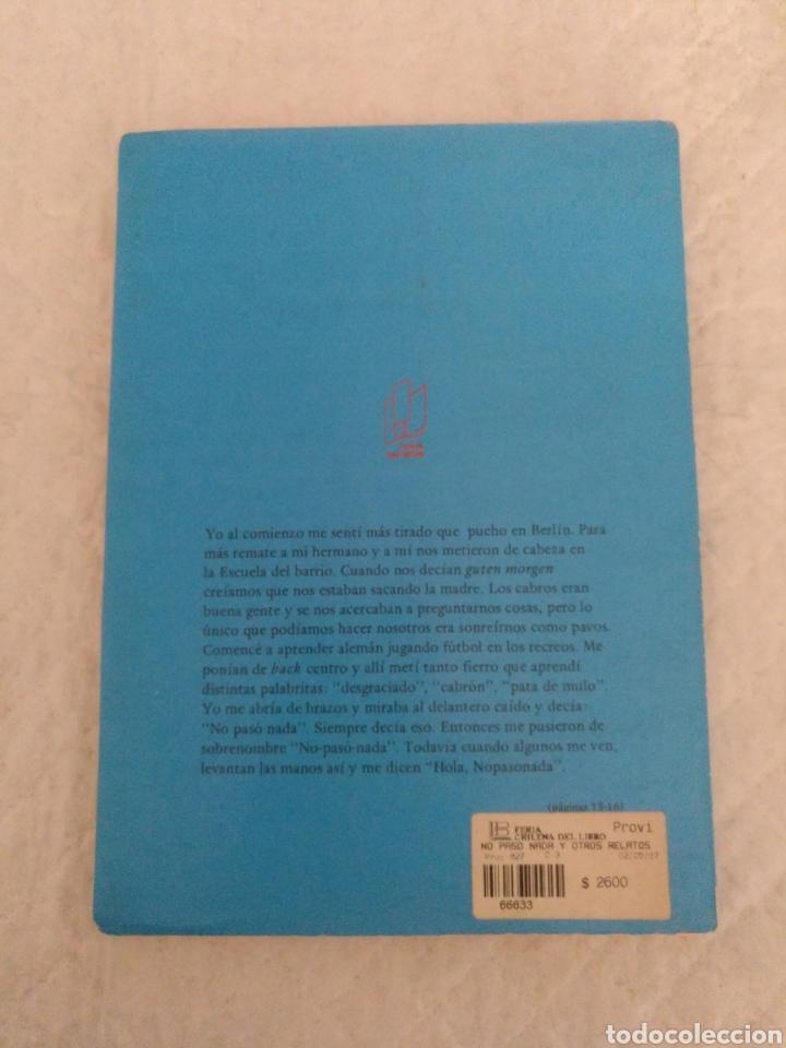 Libros de segunda mano: No paso nada y otros relatos. Antonio Skarmeta. Ilustraciones de Federico Aymá. Libro - Foto 9 - 195504928
