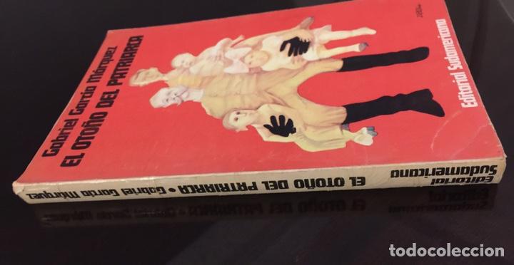 Libros de segunda mano: Gabriel García Márquez. El Otoño del Patriarca. Edición original 1975.Editorial Sudamericana - Foto 2 - 195506870