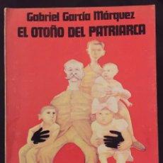 Libros de segunda mano: GABRIEL GARCÍA MÁRQUEZ. EL OTOÑO DEL PATRIARCA. EDICIÓN ORIGINAL 1975.EDITORIAL SUDAMERICANA. Lote 195506870