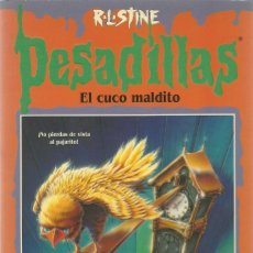 Libros de segunda mano: EL CUCO MALDITO Nº 20 - PESADILLAS - R. L. STINE - EDICIONES B. Lote 195511062