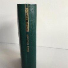 Libros de segunda mano: ROLLAND ROMAIN / OBRAS ESCOGIDAS / AGUILAR 1968 EDICIÓN LIMITADA. Lote 195511922