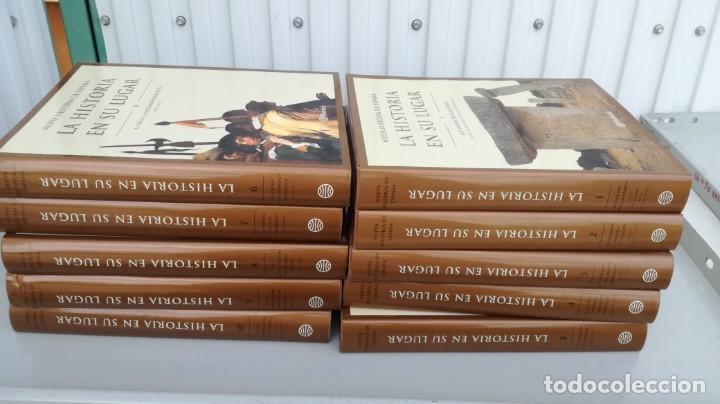 LA HISTORIA EN SU LUGAR PLANETA 10 TOMOS (Libros de Segunda Mano - Historia - Otros)