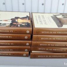 Libros de segunda mano: LA HISTORIA EN SU LUGAR PLANETA 10 TOMOS. Lote 195512048
