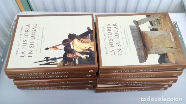 Libros de segunda mano: LA HISTORIA EN SU LUGAR PLANETA 10 TOMOS - Foto 2 - 195512048