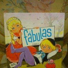 Libros de segunda mano: FÁBULAS. TOMO 2. ESOPO, IRIARTE, LA FONTAINE Y SAMANIEGO. ILUSTRADO POR MARÍA PASCUAL. TORAY 1977.. Lote 195512978