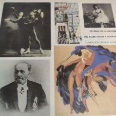 Libros de segunda mano: PÁGINAS DE LA HISTORIA DEL BALLET RUSO Y SOVIETICO. 1985. Lote 195514972