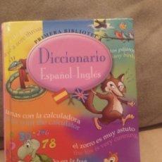 Libros de segunda mano: DICCIONARIO ESPAÑOL INGLÉS SUSAETA PRIMERA BIBLIOTECA 9788430542260. Lote 195516481