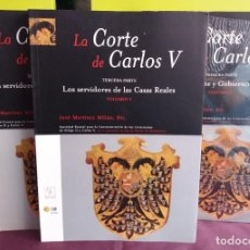 Libros de segunda mano: LA CORTE DE CARLOS V (5 VOLS.). Lote 195526427