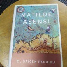 Libros de segunda mano: EL ORIGEN PERDIDO (MATILDE ASENSI) PLANETA. Lote 195529262