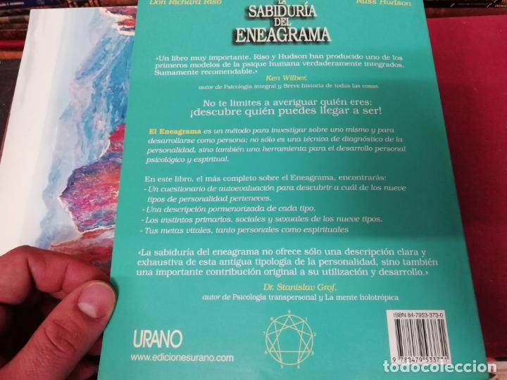 Libros de segunda mano: LA SABIDURÍA DEL ENEAGRAMA .GUÍA COMPLETA PARA EL DESARROLLO PSICOLÓGICO Y ESPIRITUAL...URANO . 2004 - Foto 15 - 195536553