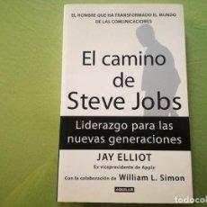 Libros de segunda mano: EL CAMINO DE STEVE JOBS. JAY ELLIOT. Lote 195537402