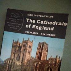 Libros de segunda mano: THE CATHEDRALS OF ENGLAND . Lote 195539703