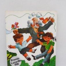 Libros de segunda mano: M69 LIBRO COLECCIÓN MUNDO MÁGICO 34, LAS COSAS DEL ABUELA. NOGUER. PREMIO LAZARILLO 1981.. Lote 195543473
