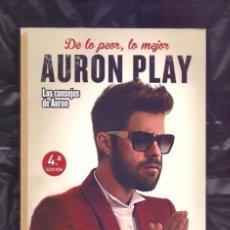 Libros de segunda mano: AURON PLAY, DE LO POR, LO MEJOR. Lote 195546201