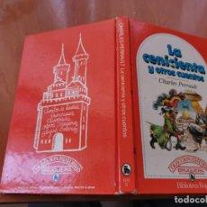 Libros de segunda mano: DIFÍCIL 1ERA ED. 1981 LA CENICIENTA Y OTROS CUENTOS CHARLES PERRAULT BRUGUERA BIBLIOTECA ROJA. Lote 195548520