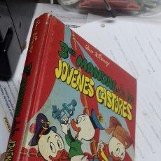 Libros de segunda mano: 3 MANUAL DE LOS JOVENES CASTORES. MONTENA 1979. Lote 195549000