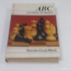 Libros de segunda mano: ABC COMPLETO DE AJEDREZ POR RAMÓN CRUSI MORÉ 1° EDICION 1978.. Lote 195549598