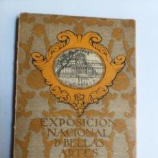 Libros de segunda mano: CATÁLOGO OFICIAL DE LA EXPOSICIÓN NACIONAL DE BELLAS ARTES DE 1924 . ARTE PRIMERA MITAD SIGLO XX. Lote 195549995