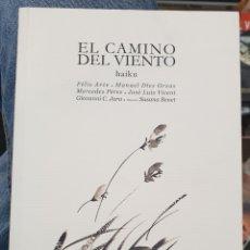 Libros de segunda mano: EL CAMINO DEL VIENTO. HAIKU, HAIBOOKS QVE. Lote 195553095