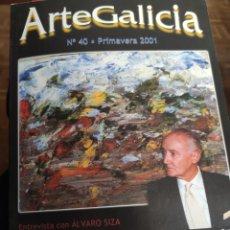 Libros de segunda mano: ARTE GALICIA. REVISTA N° 40 AÑO 2001. Lote 195553386