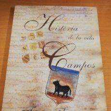 Libros de segunda mano: HISTÒRIA DE LA VILA DE CAMPOS. FACSÍMIL (FRANCESC TALLADES) INCLUYE CD. Lote 195567950