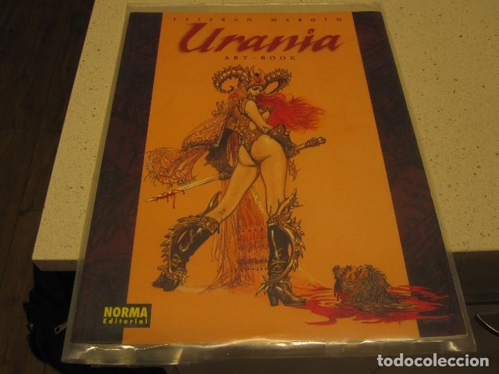 URANIA ESTEBAN MAROTO ART BOOK NORMA COMO NUEVO EN PLASTICO CONSERVADO (Libros de Segunda Mano - Bellas artes, ocio y coleccionismo - Otros)