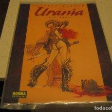 Libros de segunda mano: URANIA ESTEBAN MAROTO ART BOOK NORMA COMO NUEVO EN PLASTICO CONSERVADO. Lote 195663026